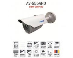 "AV-555AHD - 1/3"" APTİNA 0130 CMOS,ANALOG HD İZMİR KAMERA SİSTEMLERİ"