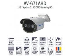 AV-671AHD - ANALOG HD KAMERA 960P CMOS SENSOR İZMİR KAMERA SİSTEMLERİ