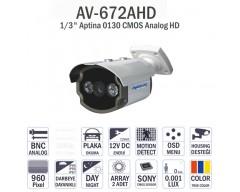 AV-672AHD - ANALOG HD KAMERA 960P CMOS SENSOR İZMİR KAMERA SİSTEMLERİ