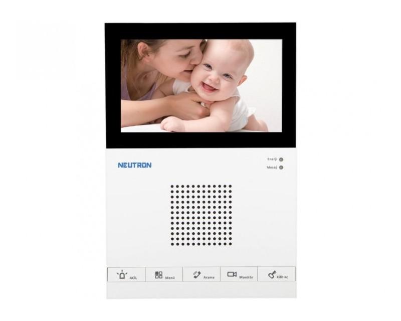 Neutron VTH1560CS LCD Dokunmatik Diyafon İzmir Kamera Sistemi