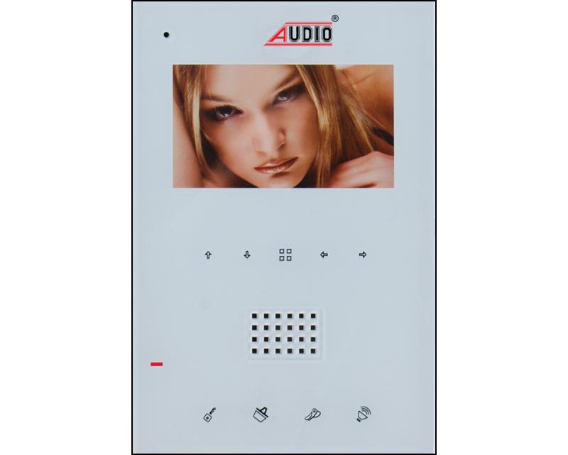 Görüntülü Diafon Sistemi Style Handsfree Dikey Beyaz