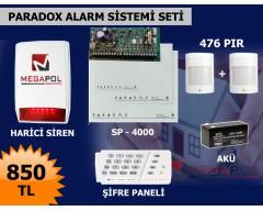 MG-2513 Paradox 2 Pırlı Hırsız Alarm Sistemi